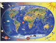 Kinderweltkarte, ab 4 Jahre