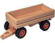 Fagus LKW-Anhänger, Holzspielzeug, ab 3 Jahre