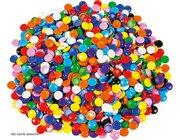 Muggelsteine aus Kunststoff, 1000 Stück