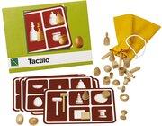 Tactilo, 25 Holzfiguren, 5 Legekarten, ab 4 Jahre