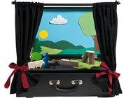 Theaterkoffer, Puppenbühnen-Set, ab 18 Monate