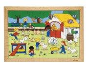 Puzzle Kinderaktivitäten - Bauernhof, ab 3 Jahre