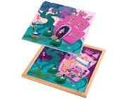 Lagenpuzzle – Prinzessinenschloss, ab 4 Jahre