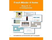 Fresh Minder 4 Home Software, 1-Platz Lizenz - Übungen 30-37 auf CD-Rom