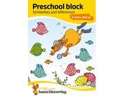 737 Preschool block - Similarities & differences, A5-Block, ab 4 Jahre