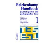 Brickenkamp Handbuch psychologischer und pädagogischer Tests, erster Band