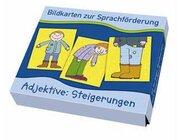 Bildkarten zur Sprachförderung - Adjektive: Steigerungen, 3-7 Jahre