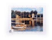 Brücke von Monet, Holzpuzzle