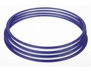 Flachreifen 40 cm blau (4 Stück)