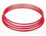 Flachreifen 70 cm rot (4 Stück)
