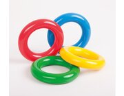 Gymnic Gym Ring, 4er Set, Ø 18 cm