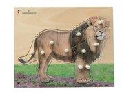 Holz-Puzzle Löwe mit großen Griffen, ab 2 Jahre
