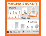 Magna Sticks 1, Magnetspiel mit Vorlagekarten, ab 4 Jahre