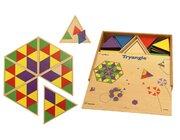 """Riesen-Legespiel """"Dreiecke"""", ab 3 Jahre"""