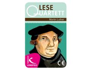 Lesequartett Martin Luther, Kartenspiel, ab 8 Jahre