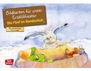 Kamishibai Bildkartenset - Die Fünf im Handschuh