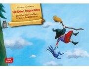 Kamishibai Bildkartenset - Die kleine Schusselhexe, 3-8 Jahre