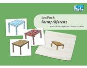 Kon-Lab LexPack Formpräferenz, Zuordnungsspiel für die Sprachtherapie, 0-10 Jahre