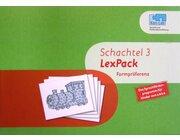 Kon-Lab LexPack Schachtel 3, Bildkarten, Aufbügelbilder und Stofftaschen, 0-5 Jahre