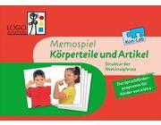 Kon-Lab Satzgliederfabrik/Körperteile und Artikel, Memospiel, 2-5 Jahre