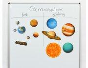 Magnetisches Solar-System für die Tafel, 12-teiliges Set