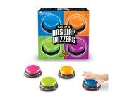 Antwort-Buzzer mit Toneffekt, 4-er Set, ab 6 Jahre