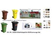 Arbeitsteppich Mülltrennungsset inkl. Zubehör