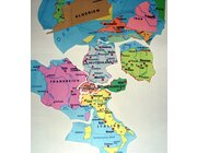 Europa Bodenpuzzle in Aufbewahrungsbox