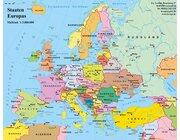 Europa politisch, Lernteppich 165 x 135 cm
