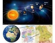 Lernteppich Heimat - Sonnensystem