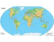 Bodenpuzzle Erde physisch