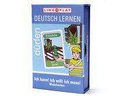 Deutsch Lernen: Ich kann! Ich will! Ich muss! Modalverben, Kartenspiel für 2-4 Spieler ab 9 Jahre