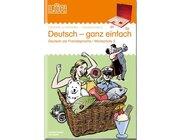 LÜK Deutsch - ganz einfach 2, Heft mit einfachen Wortschatzübungen, 1.-4. Klasse