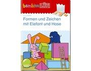 bambinoLÜK Formen und Zeichen mit Elefant und Hase, 2-4 Jahre