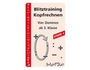 Blitztraining Kopfrechnen - Stufe 1, Kartenspiel, 3.-4. Klasse