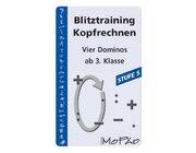 Blitztraining Kopfrechnen - Stufe 5, Kartenspiel, 3.-4. Klasse