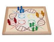 Vis-á-vis, Gesellschaftsspiel groß und magnetisch, 50 x 50 cm