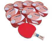 Tischtennisschläger Smash, 10er-Set, ab 6 Jahre