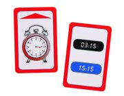 Uhrzeit, Spielkarten zum Magischen Zylinder, 5-7 Jahre