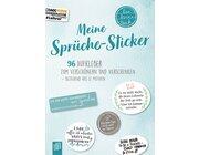 """Meine Sprüche-Sticker """"live - love - teach"""", Klasse 1-13"""