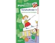 miniLÜK Vorschulkinder 4, Heft, 5-7 Jahre
