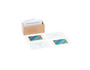 Kasten mit Aufgabenkarten für das Multiplikationsbrett für Dezimalbrüche, ab 9 Jahre