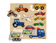 Holzpuzzle Fahrzeuge