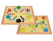 Verflixt und Six, Doppelspiel für 2-6 Spieler, 35x35cm
