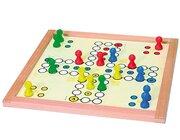 Verflixt groß, für 4 Spieler, 50x50cm, 4cm-Figuren
