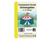 Französisch-Terzett: Ortsangaben, Kartenspiel, 5. bis 10. Klasse