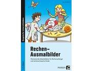 Rechen-Ausmalbilder, Buch, 1. und 2. Klasse