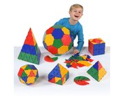Polydron Geometrie-Set, 266 Teile, ab 4 Jahre