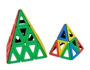Magnetic Polydron gleichschenkliges Dreieck Set 60 Teile