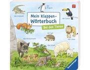 Mein Klappen-Wörterbuch: Bei den Tieren, Buch, ab 2 Jahre